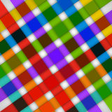 Abstract bright stripes on a white background.  Stock Image