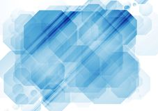 Abstract bright tech vector design Royalty Free Stock Image