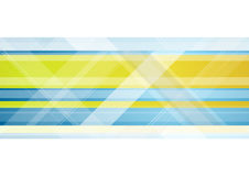 Abstract bright tech vector geometric background Royalty Free Stock Image
