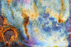 Abstract bright texture with divorces of blue, violet, heavenly and sand color royalty free stock photo