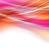 Abstract bright transparent lines background Royalty Free Stock Images