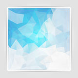 Abstract Bright Triangle background Stock Image