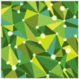 Abstract bright triangles background Royalty Free Stock Photos