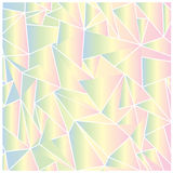 Abstract bright triangles background. Colorful symmetrical bright triangles background Stock Photo