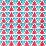 Abstract bright triangles seamless pattern Royalty Free Stock Photos