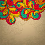 Abstract bright vector frame. EPS10 Royalty Free Stock Image