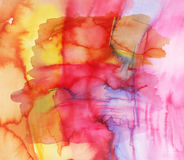 Abstract bright watercolor texture Stock Images