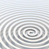 Abstract Bright White Spiral Background Stock Photos