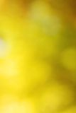 Abstract bright yellow bokeh Royalty Free Stock Images