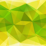 Abstract bright yellow and green background Royalty Free Stock Photos
