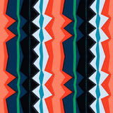 Abstract bright zigzag pattern background Stock Photos