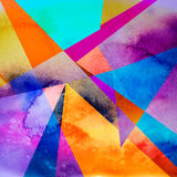 Abstract brightness background. Graphic brightness abstract background with geometric elements Royalty Free Stock Photo