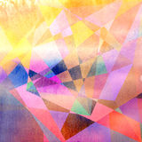 Abstract brightness background. Graphic brightness abstract background with geometric elements Royalty Free Stock Image