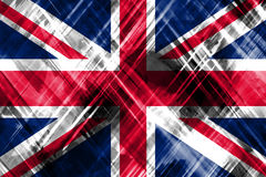 Abstract British Flag Stock Photography
