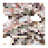 Abstract broad color palette brown and pink red Stock Photography