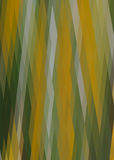 Abstract broad strokes yellow and green Royalty Free Stock Photos