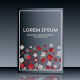 Abstract brochure. Brochure . Stock Image