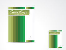 Abstract brochure cover design Stock Images