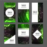Abstract a4 brochure cover design. Text frame surface. Title sheet model. Abstract green background, the latest technology. Creative vector front page vector illustration