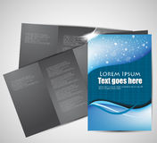 Abstract brochure design Royalty Free Stock Images