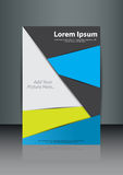 Abstract brochure design Stock Photography