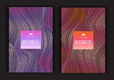 Abstract brochure designs Stock Photography