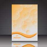 Abstract A4 brochure flyer background eps10 illustratio. N 1 royalty free illustration
