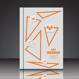 Abstract  A4  brochure flyer background eps10  illustratio. N 3 vector illustration