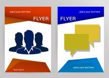 Abstract Brochure Flyer design vector template Stock Photos