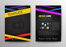 Abstract Brochure Flyer design vector template in A4 size. Design Layout. Infographic Elements vector illustration