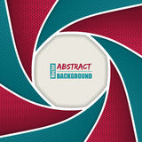 Abstract brochure with shutter design Stock Photo
