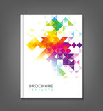 Abstract Brochure Template Stock Photos