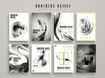 Abstract brochure template Stock Image
