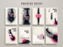 Abstract brochure template Royalty Free Stock Photography