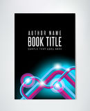 Abstract Brochure Template - Flyer or Book Design Stock Photo