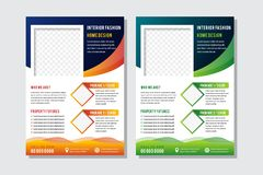 Free Abstract Brochure Template Layout Design. Corporate Business Annual Report, Catalog, Magazine, Flyer Mock Up. Royalty Free Stock Photo - 166580265