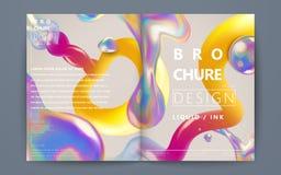 Abstract brochureontwerp vector illustratie
