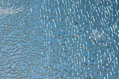 Abstract broken glass. Royalty Free Stock Photography