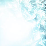 Abstract broken glass background Stock Photography