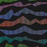 Abstract broken striped background. Vector background Stock Photography