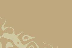 Abstract in brown. Brown coloured abstract that can be used as background Royalty Free Stock Photo