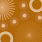 Abstract Brown Background Royalty Free Stock Photography