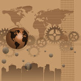Abstract brown background Royalty Free Stock Images