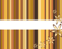 Abstract brown background. Vector illustration of a brown background Royalty Free Stock Photography