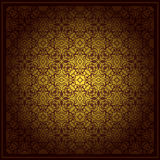 Abstract brown background baroque Royalty Free Stock Images