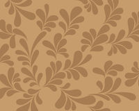 Abstract brown background curls. Royalty Free Stock Images