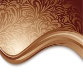 Abstract brown background Stock Photos