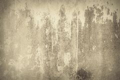 Abstract background, old brown paint on the wall royalty free stock images
