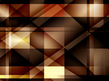 Abstract brown background - vector Stock Photography