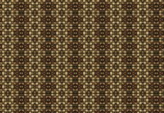 Abstract brown blocks pattern wallpaper Royalty Free Stock Photos
